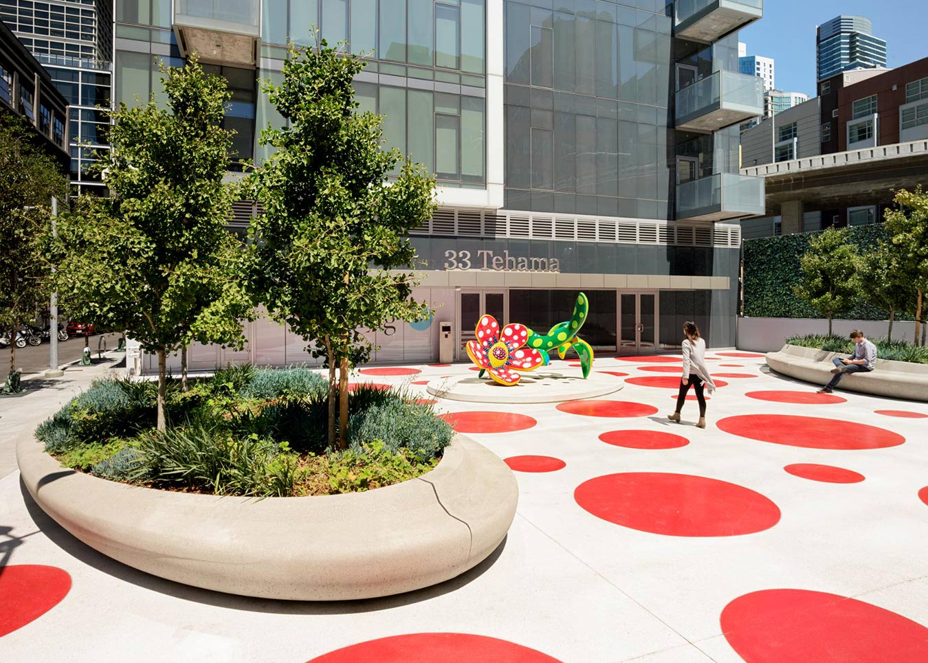 33 Tehama Plaza + Oscar Park
